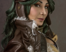 Aviator Irelia Cosplay 7