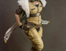 Aviator Irelia Cosplay 12