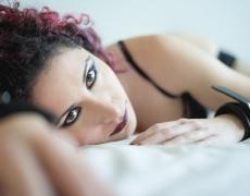 Sarai - Boudoir - Lay On Bed 2