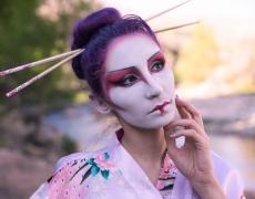 Geisha Sakura Hanami 1