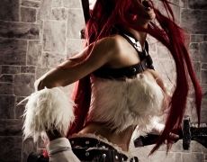 Kitty Cat Katarina Cosplay Roar